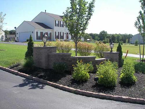 Landscaping Driveway Entrances Pictures : Corner driveway entrance landscaping flickr photo sharing