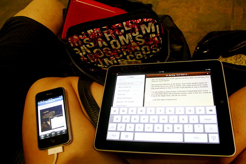 Using photos on my phone to aid typing on my ipad | by ohsarahrose