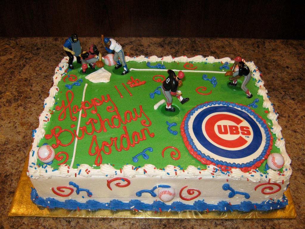 Images For Baseball Birthday Cake