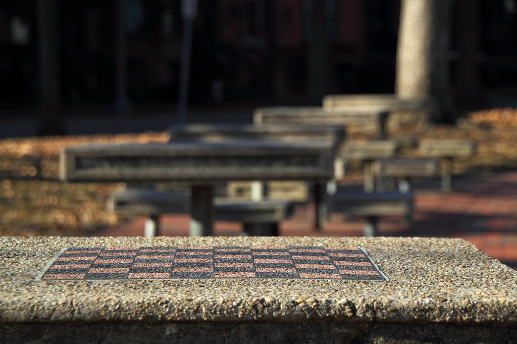 Lafayette Park Chess Tables