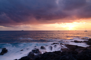 Kona Coast Sunset - [EXPLORED] | by andreaskoeberl