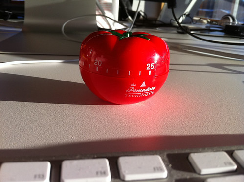 Pomodoro timer | by David (Standout)