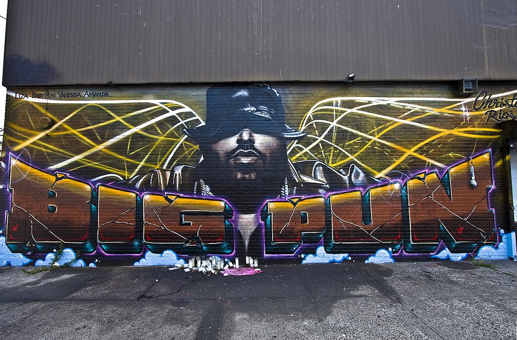 Big pun bronx alvaro escobar flickr for Big pun mural bronx