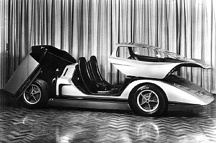 1969 Holden Hurricane Concept Car Press Photo Covers The