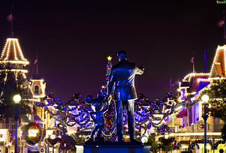 """It's a Kingdom of Lights during this Season, Mickey"" 