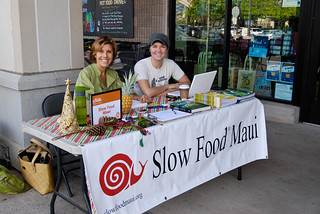 Susan Teton Campbell and Laura Burkhart | by Slow Food Maui