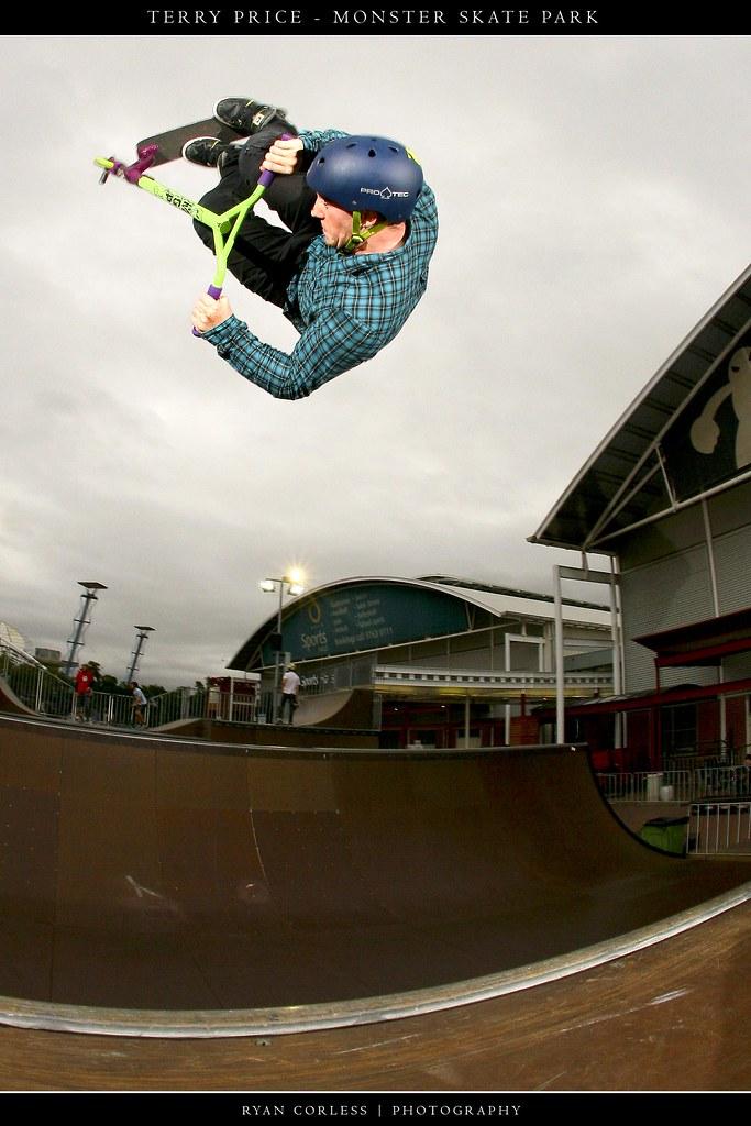 Terry Price Flair Monster Skate Park
