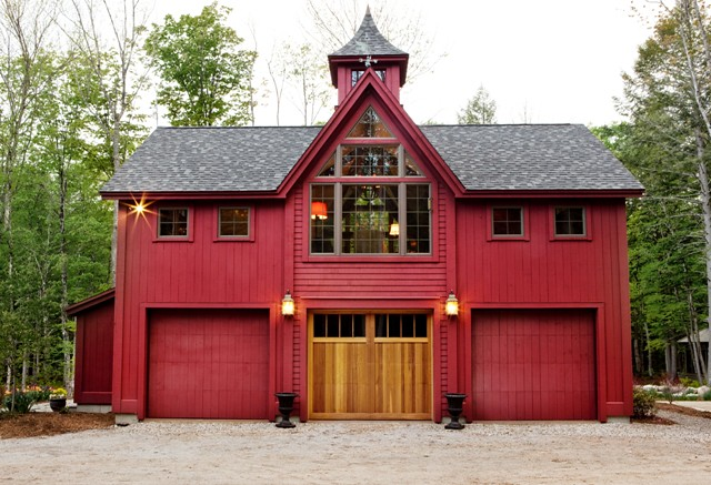 Carriage House Garage Doors | Yankee Barn Homes | Flickr