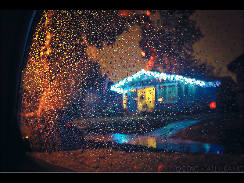 rainy christmas. | 2010 Alli Jiang. | Alli Jiang | Flickr