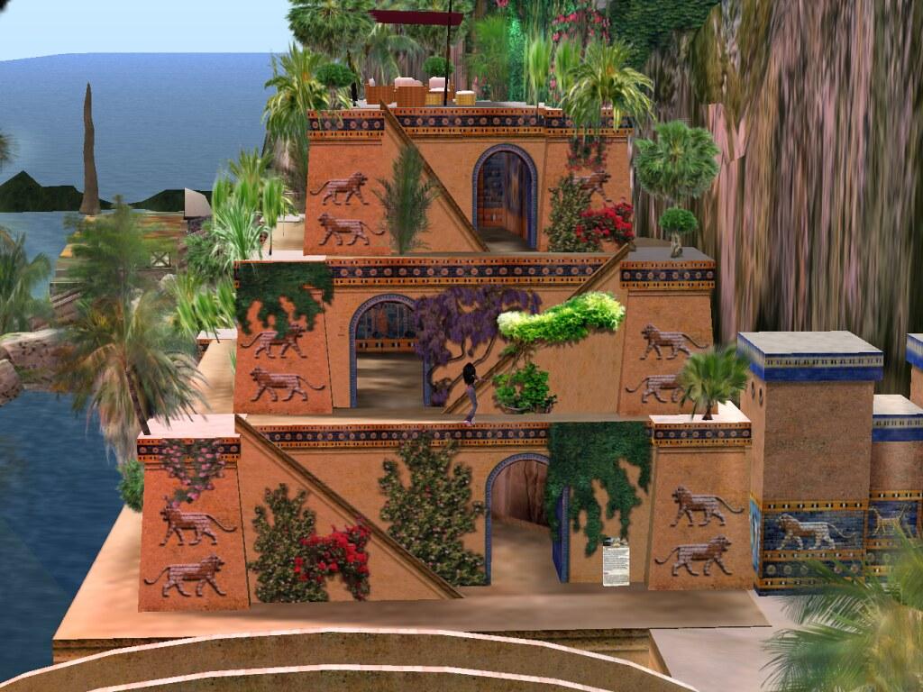 Giardini pensili di babilonia mondo virtuale second for Giardini pensili