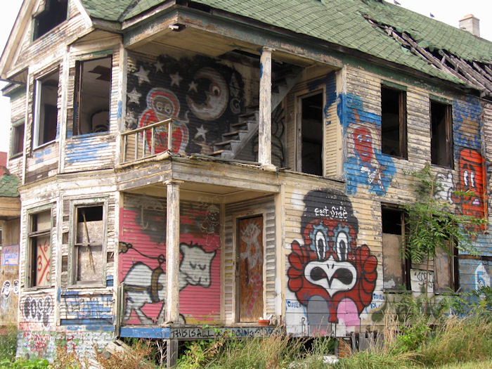 Detroit - East Side | Some very talented artists turned ...