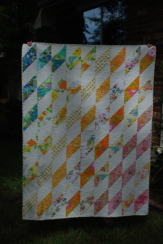 Vintage Sheet Quilt - Finished | by bebo821