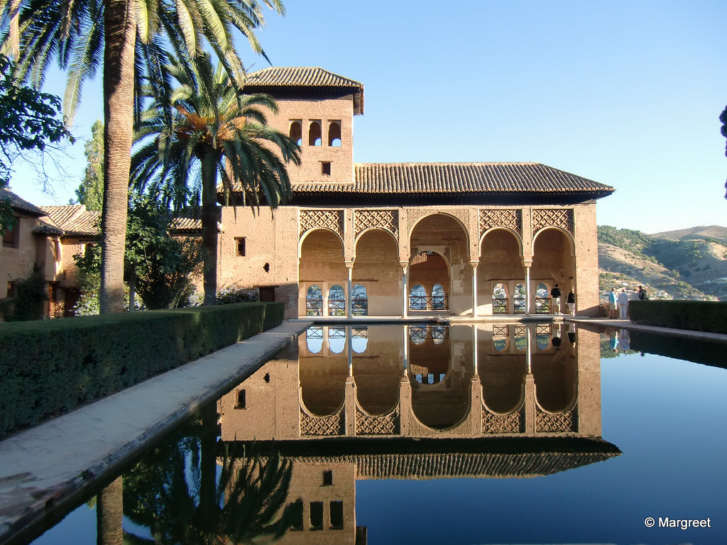 La Alhambra Beautiful Palace In Granada Spain Margreet