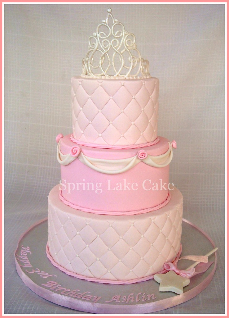 Princess Cake Design : Princess Birthday Cake Princess cake for a 3 year old ...