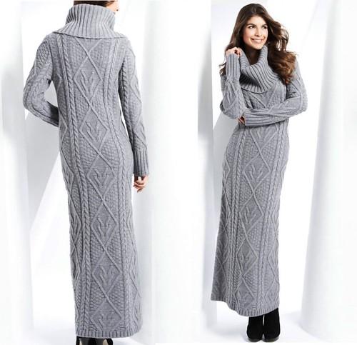 Maxi Sweater Dress | Gommap Blog