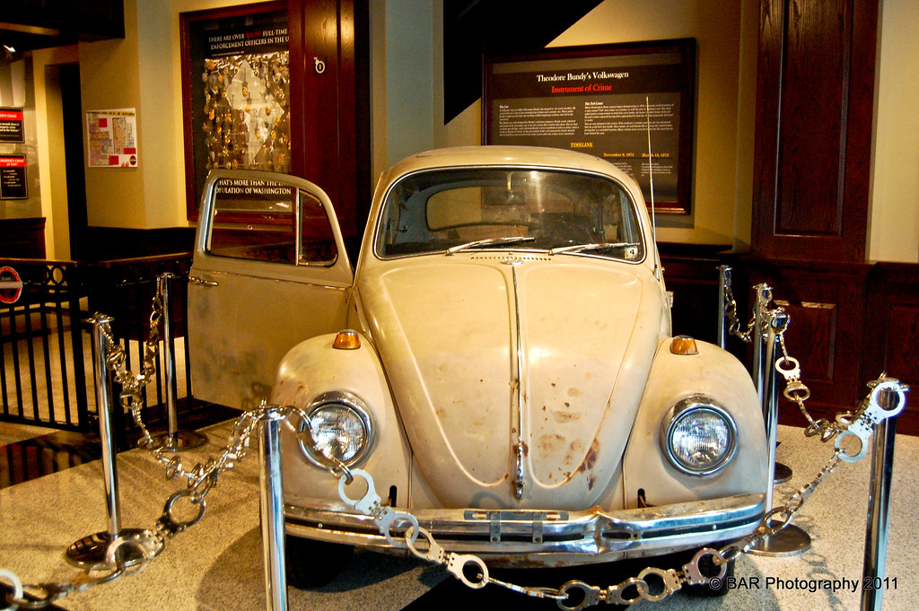 Ted Bundy's VW Bug | Crime and Punishment Museum | BAR Photography | Flickr