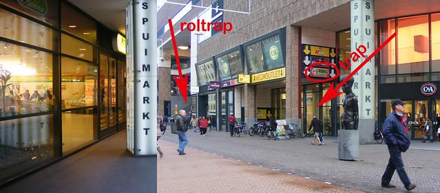 Oriental Spuimarkt, Den Haag