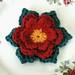 Christmas Crochet Flower