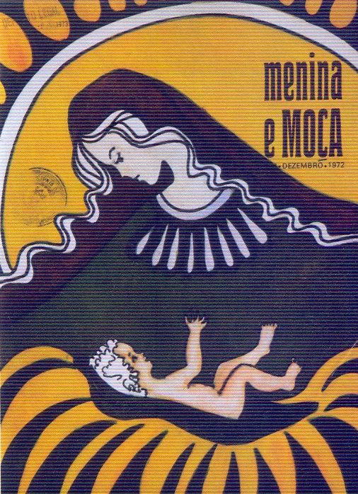 Menina e Moça, Dezembro 1972 - capa