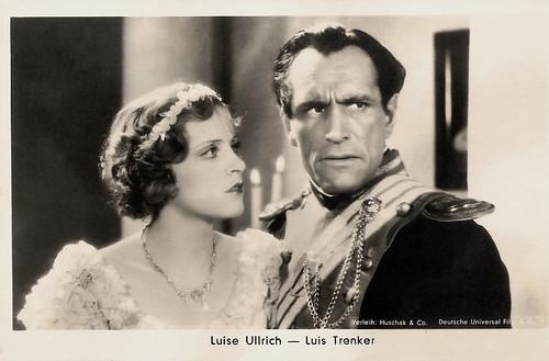 Luise Ullrich, Luis Trenker
