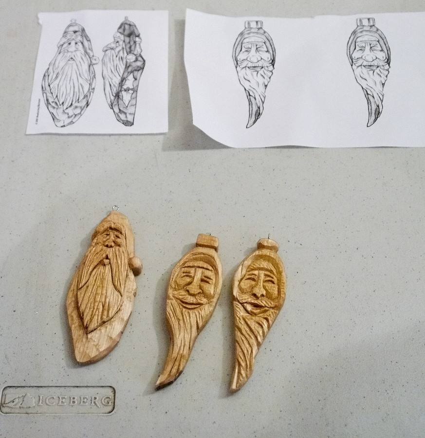 Wood ornament carving woodcarving workshop for