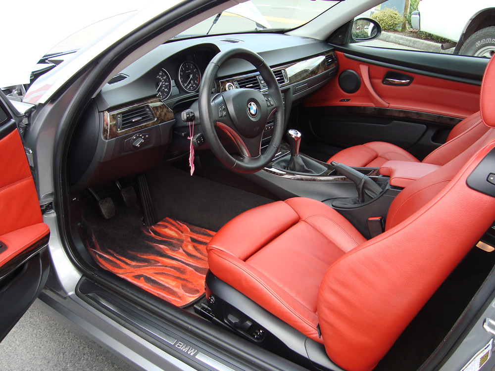 bmw interior repair custom leather interior interior l flickr. Black Bedroom Furniture Sets. Home Design Ideas