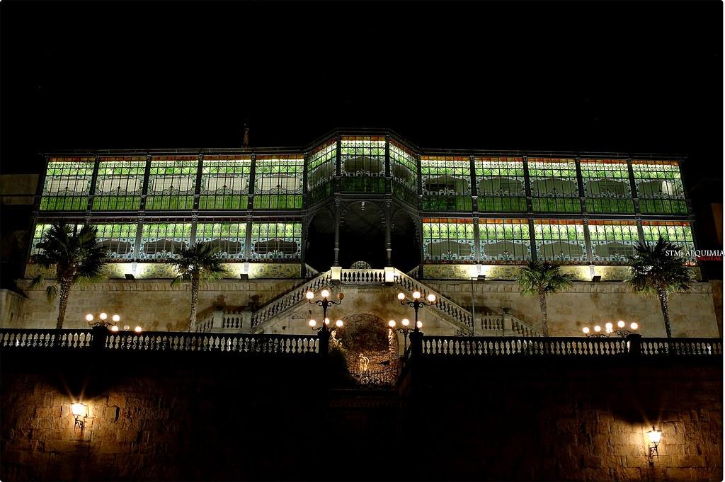 Cristalera casa lis salamanca vista nocturna de la - La casa lis de salamanca ...