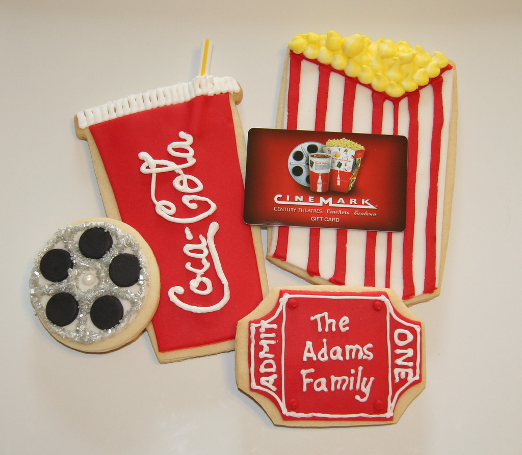 movie cookies yay my sister and brotherinlaw finally