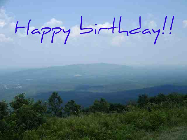 Happy Birthday Winding Stair Mountains The Talimena