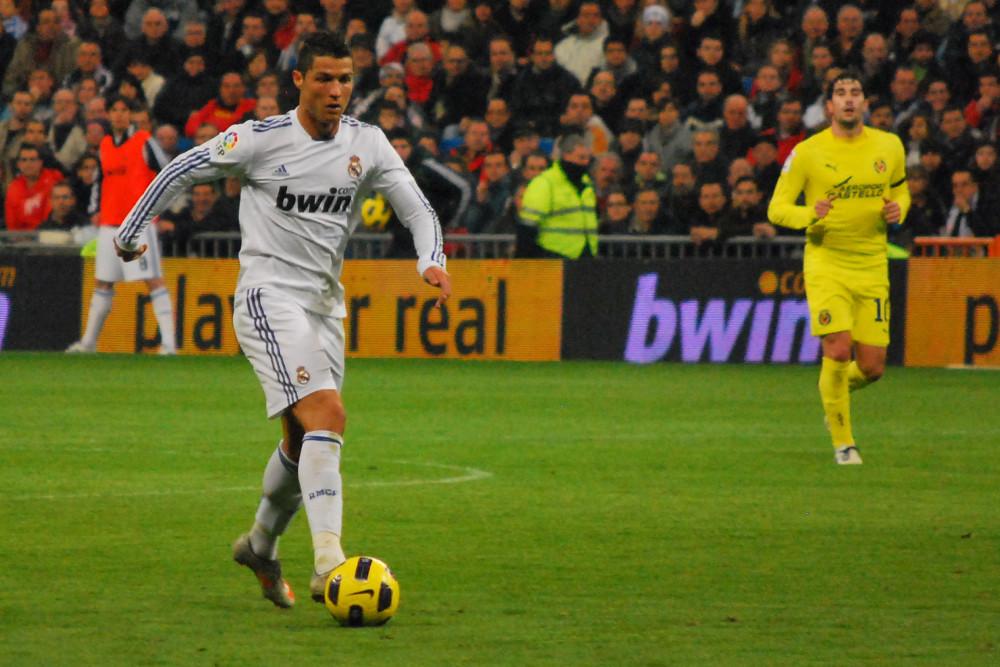 Cristiano Ronaldo Real Madrid 4 Villarreal 2 La Liga