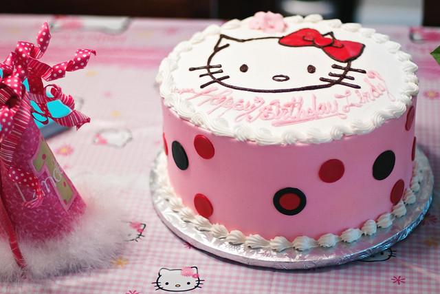 hello kitty happy birthday cakes