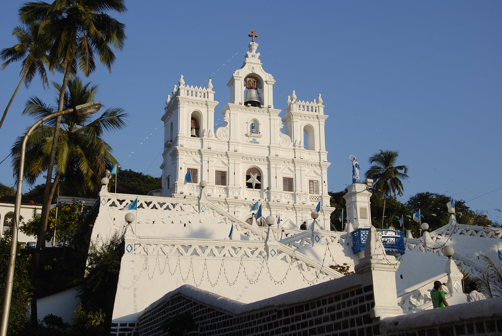panaji church, goa,