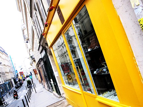 Yellow storefront | by alifeintranslation