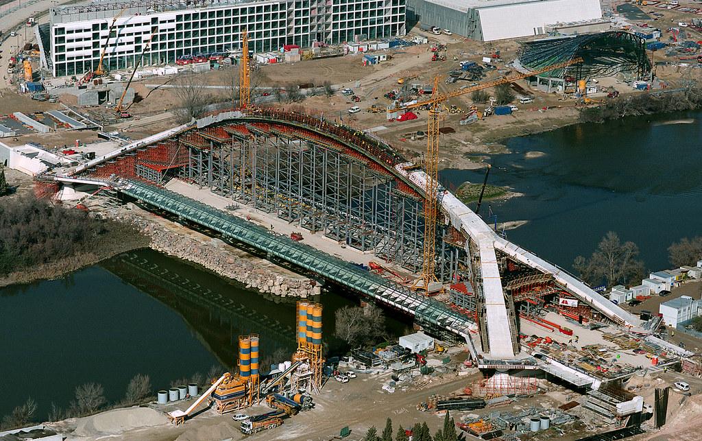 Formwork Falsework World S Largest Suspended Concrete Ar