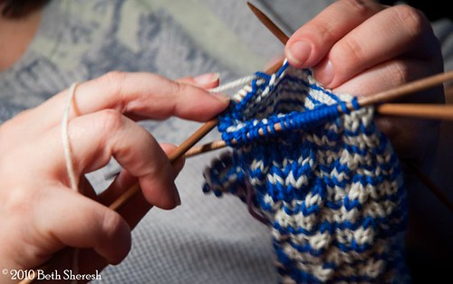 knitting hands | by kitchenmage