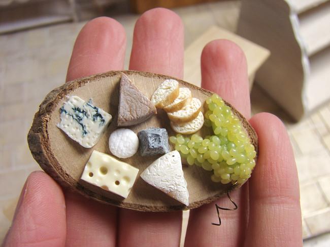 miniature food fromages cheese brie crottin de chavig flickr. Black Bedroom Furniture Sets. Home Design Ideas