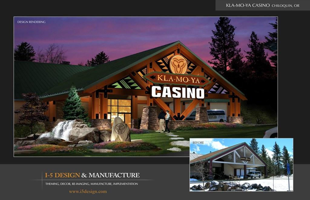 Casino on i5 in oregon