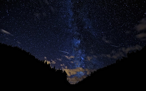 Another from 2010's Perseids Meteor Shower | by Fort Photo