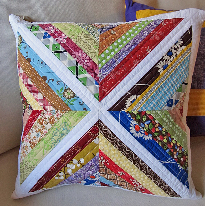 string block quilted throw pillow blogged: edeenutcreates.? Flickr
