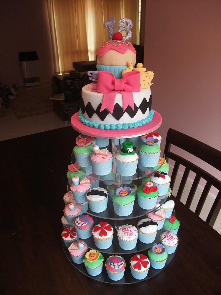 Birthday Cakes Of Alice In Wonderland