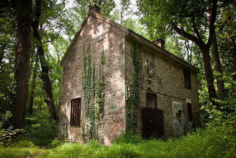 Abandoned House In The Woods Fonthill Mansion