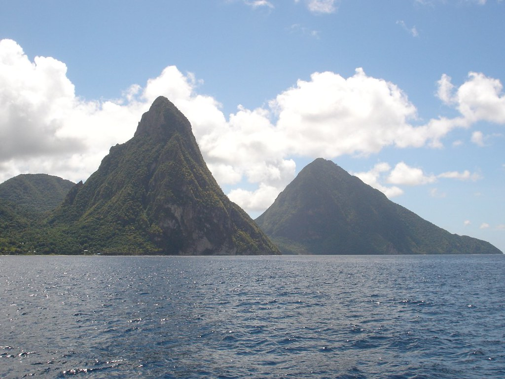 The Pitons, St Lucia |...