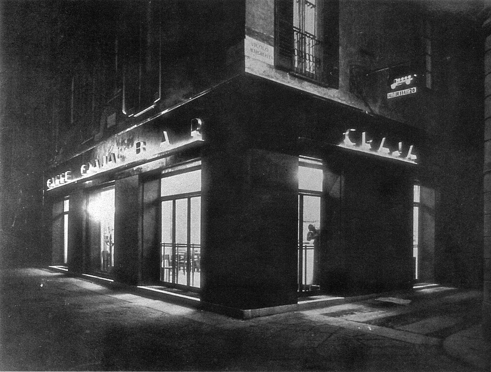 Santa margherita bar craja 1929 mil n l 39 era insc for White bar milano