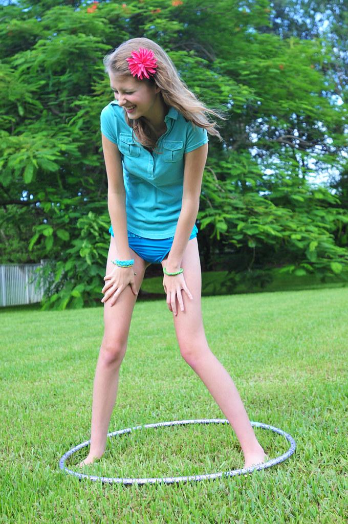 Junior Shoot Lifestyle Hula Hoop | Daena Lowell Next Model
