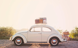 Bug packed up Road Trip | by lizettegarrison