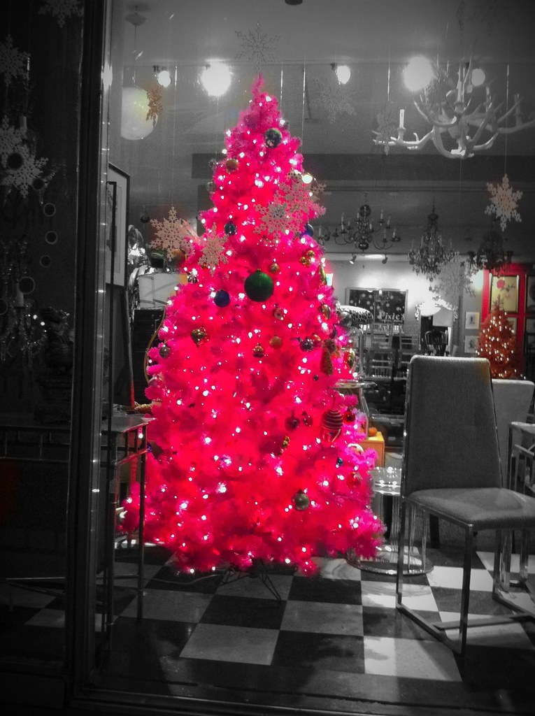 The Hot Pink Christmas Tree 1 Please Click Above To