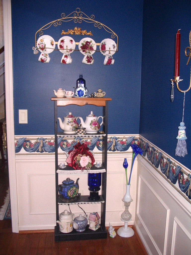 My Royal Blue Dining Room Decorations Christmas