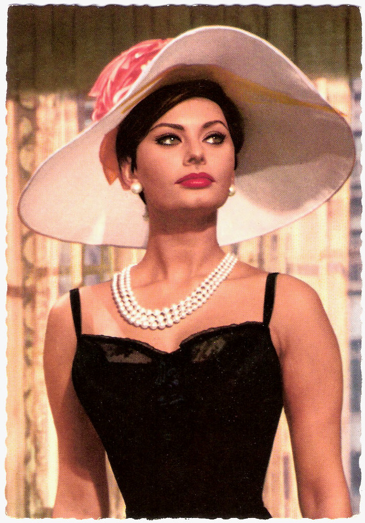Sophia Loren  German Postcard By Filmbilder-Vertrieb -3601