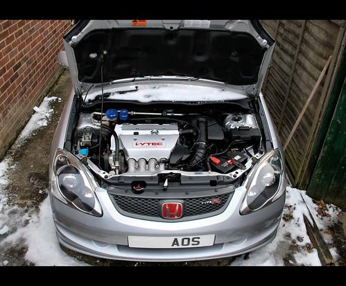 Ep3 Engine Bay White Rocker Cover Audi Ibis White