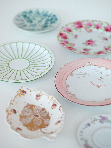 unpacked some plates today... | by decor8